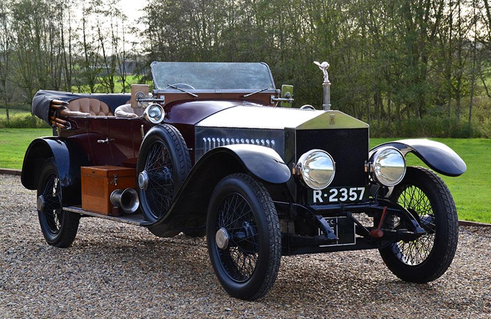 1915 Rolls-Royce Colonial Silver Ghost