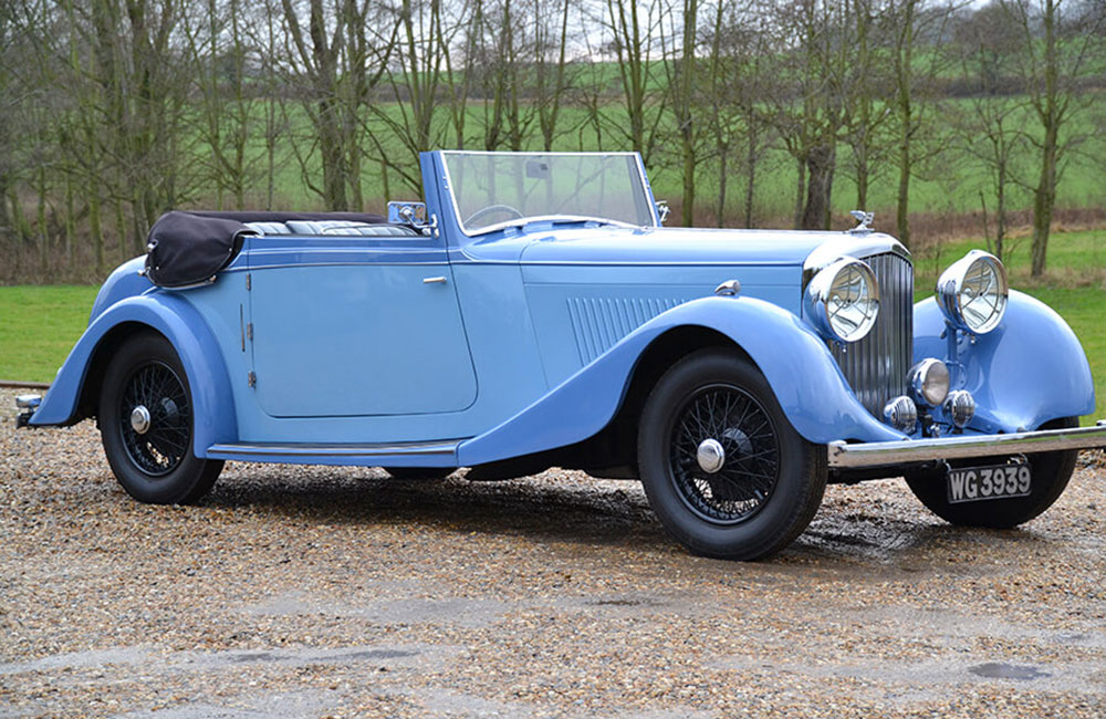1935 Bentley 3-½ Litre Drophead Coupe