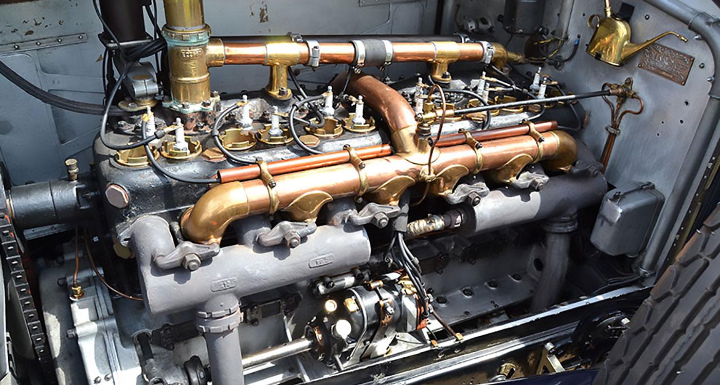 1921 Rolls-Royce Silver Ghost Alpine Eagle Torpedo Bodied Open Tourer