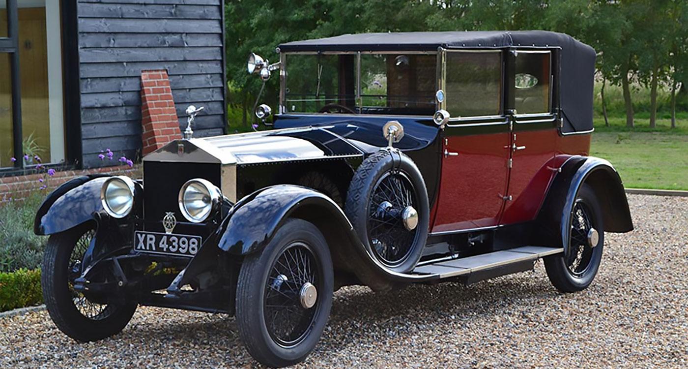 1923 Rolls-Royce Silver Ghost cabriolet by Hooper