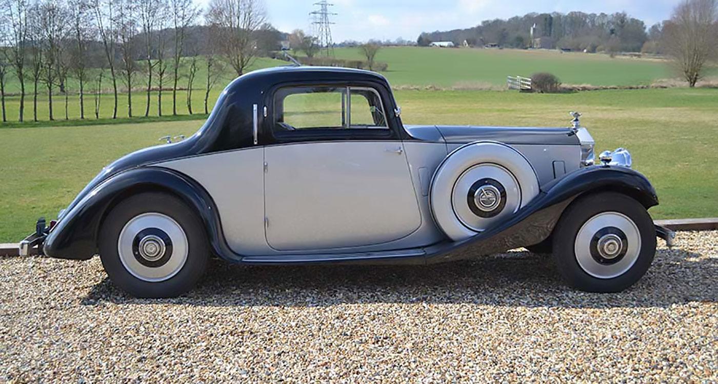 1936 Rolls-Royce 25/30hp