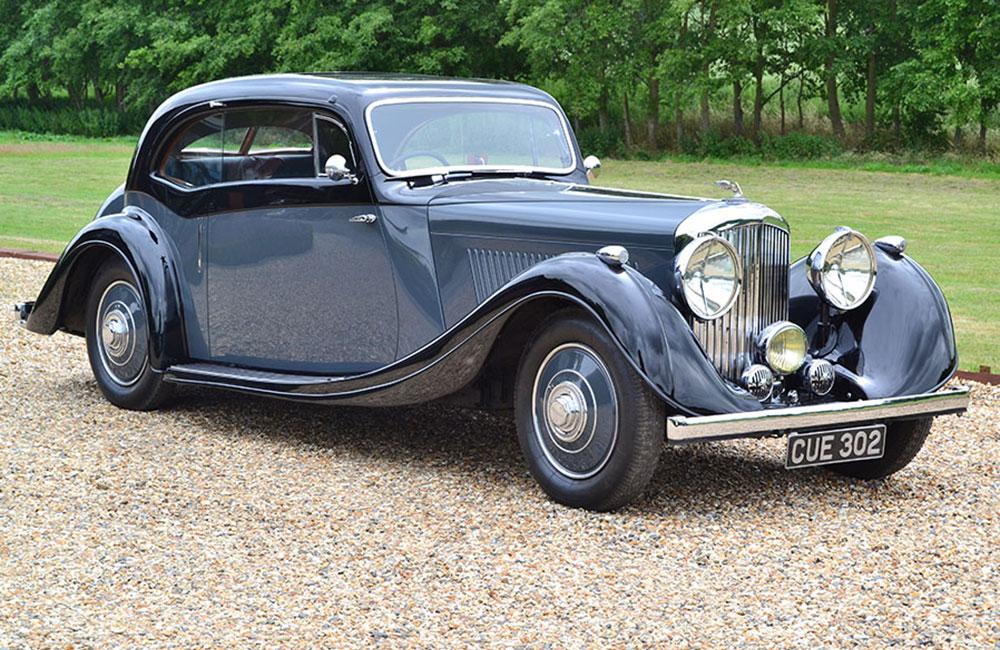 1937 Bentley 4 ¼ lt