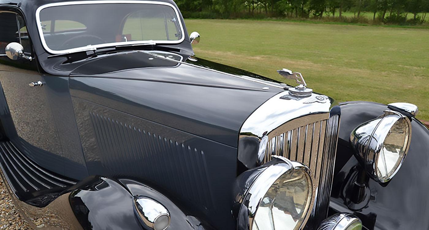 1937 Bentley 4 ¼ ltr