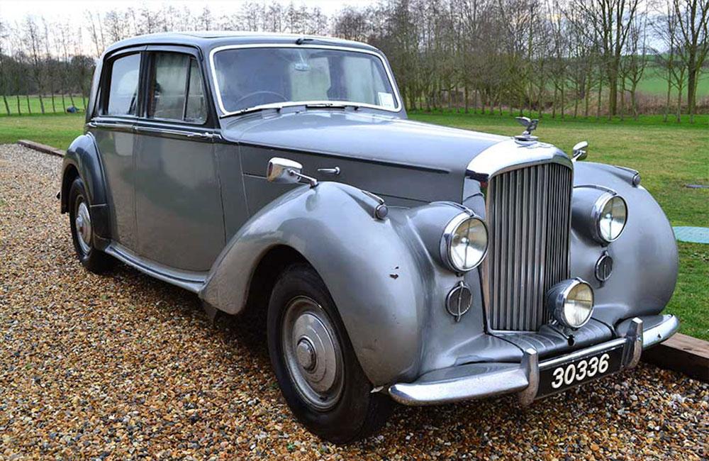 Bentley Mk VI 1951,Chassis No. B112LJ