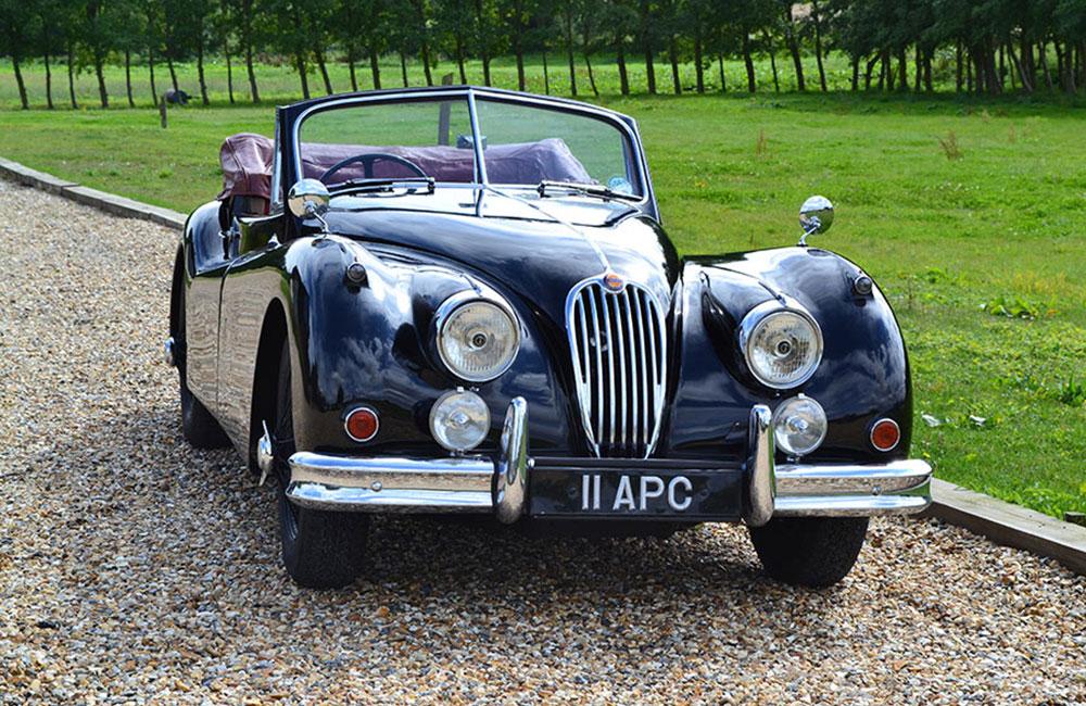 1956 Jaguar XK 140 Drop Head Coupe