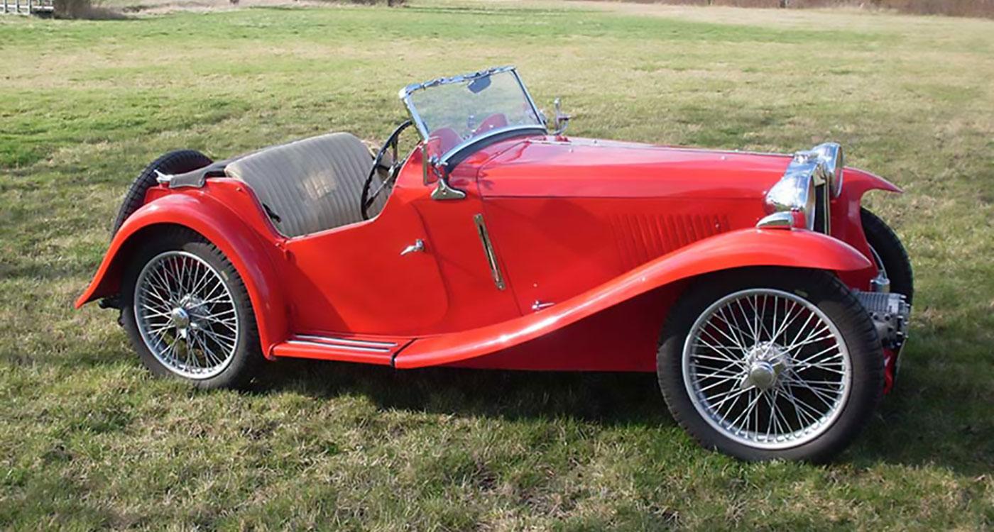 1934 MG PA Supercharged