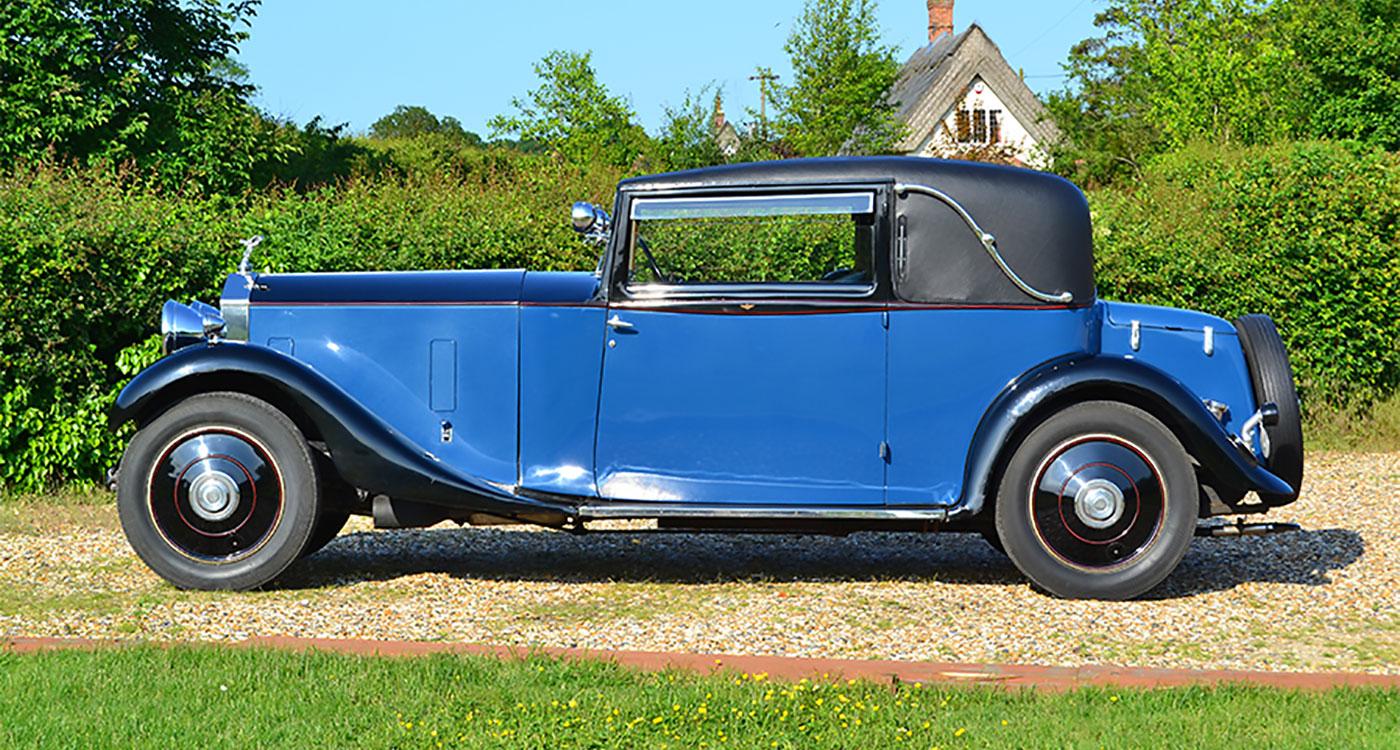 1933 Rolls-Royce 20/25 Park Ward Sportsman's