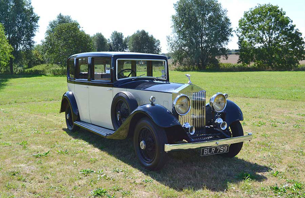 1934 Rolls-Royce 20/25 Chassis No. GYD 25