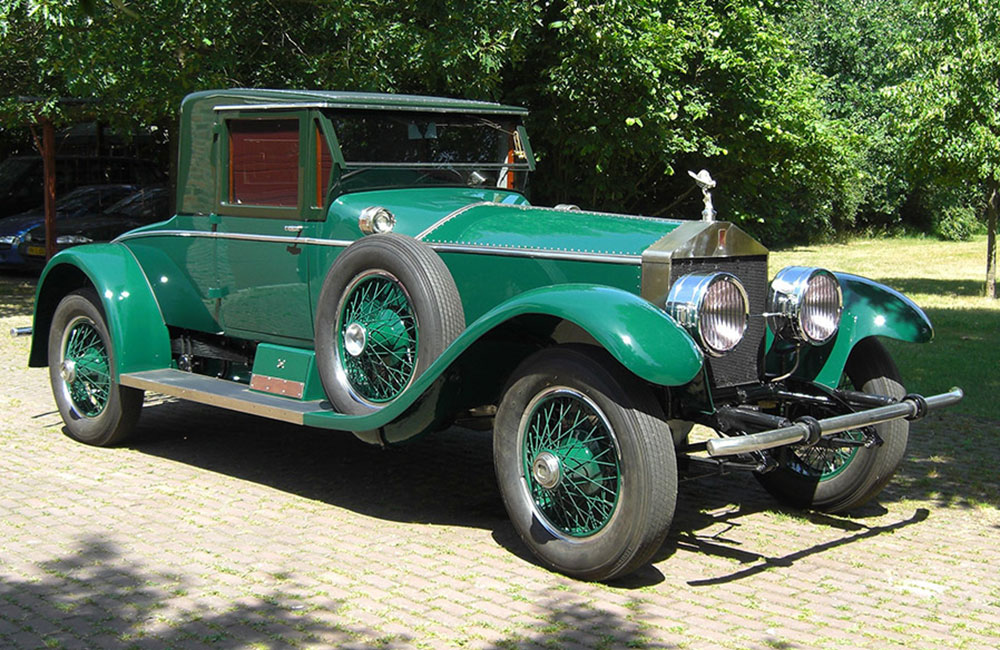 1924 Rolls-Royce Silver Ghost Coupe LHD