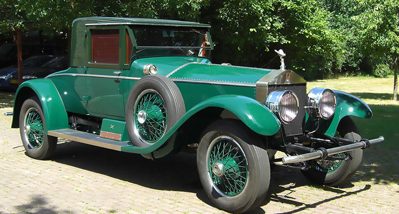 1924 Rolls-Royce Silver Ghost Coupé