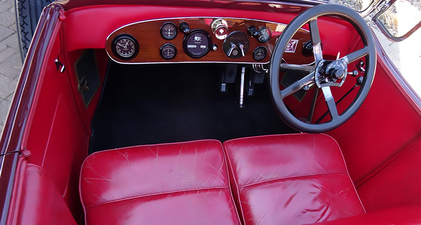 1924 Rolls-Royce Springfield Silver Ghost Pall Mall Tourer
