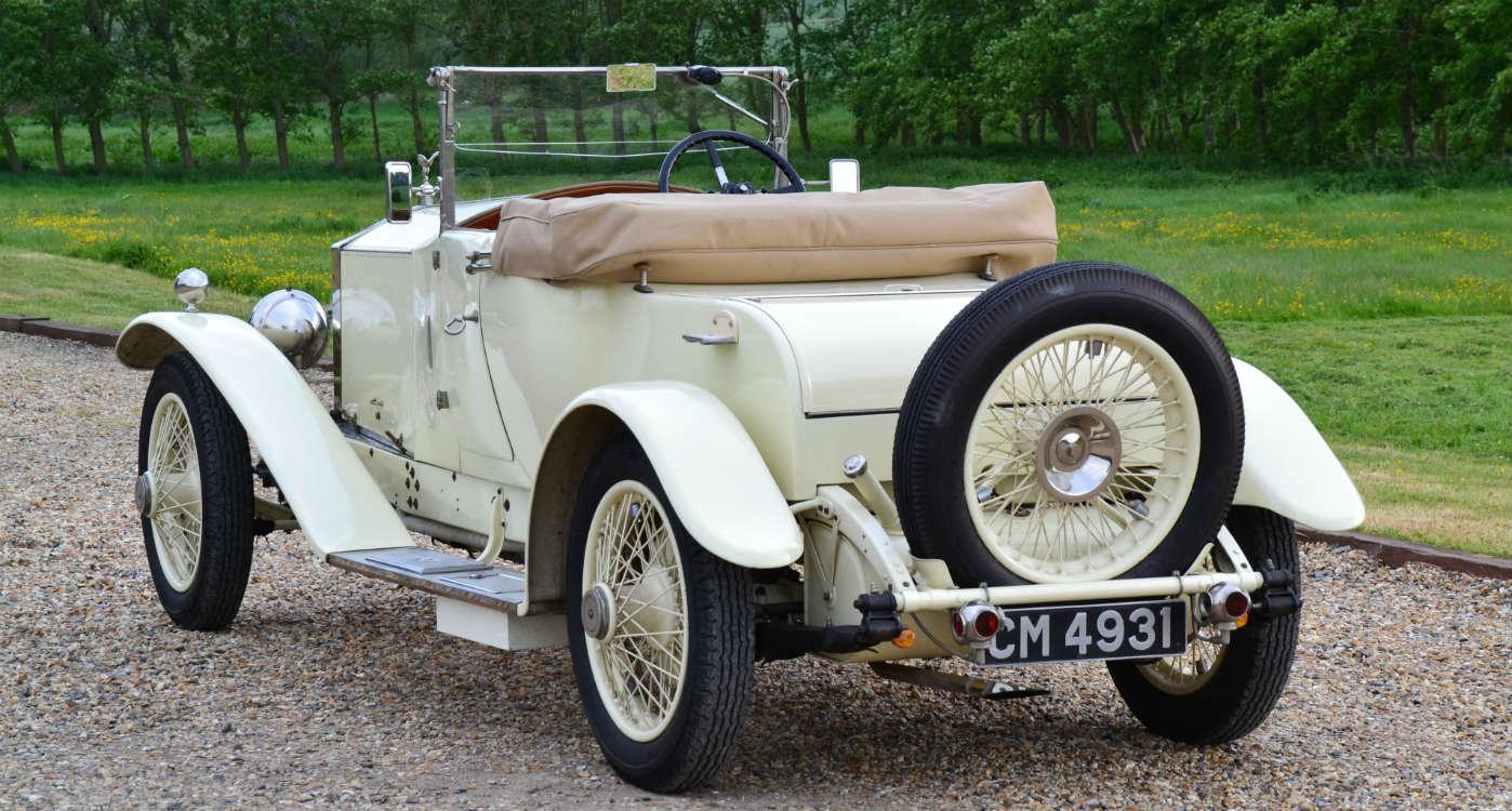 1923 Rolls-Royce 20 Open Tourer