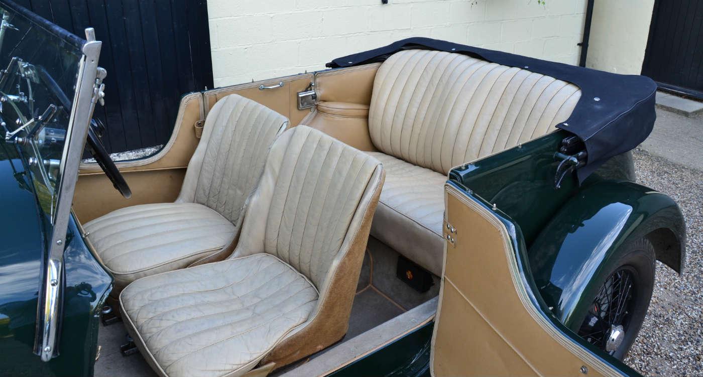 1934 Lagonda 16/80 T7 Factory Body Tourer