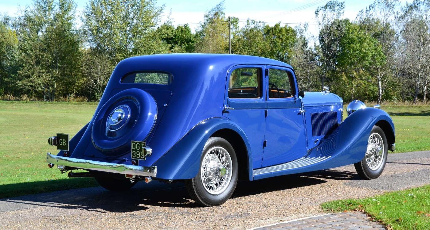 1936 Bentley 4 ¼ litre