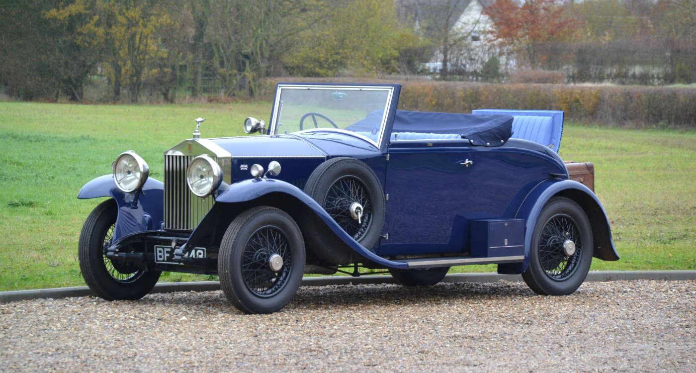 1929 Rolls-Royce 20hp Doctor's DHC