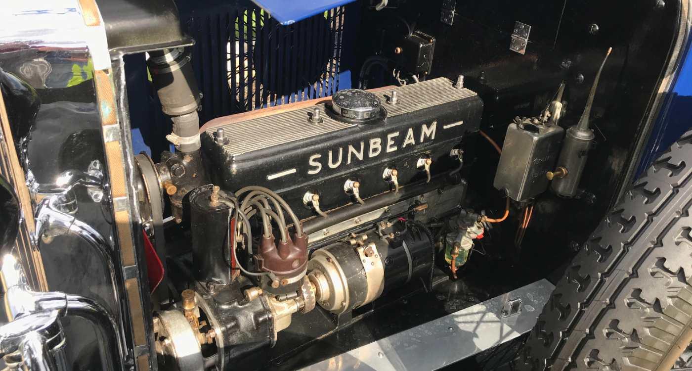 1933 Sunbeam 16 (18.2) Saloon