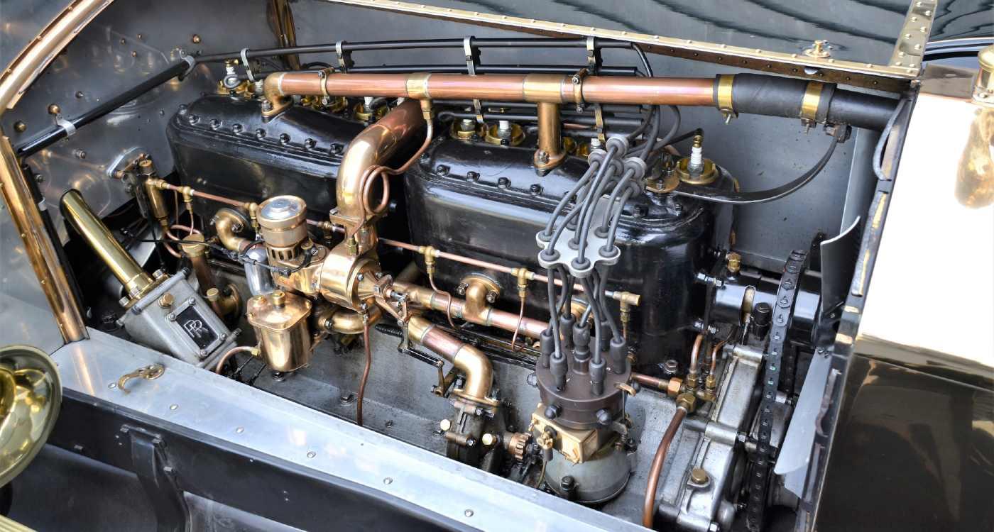 Rolls Royce Silver Ghost 1909