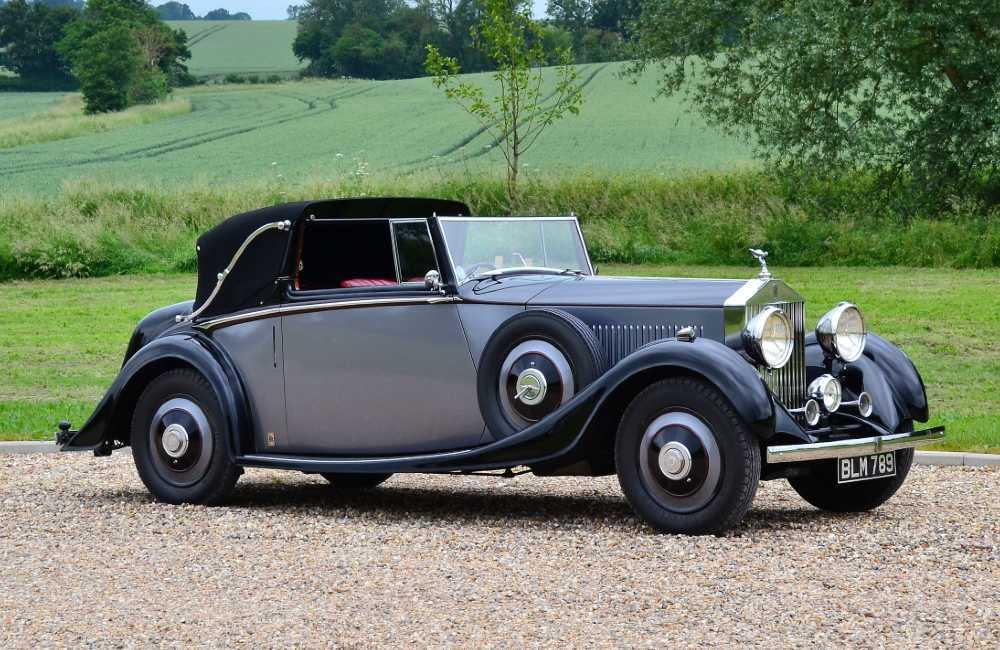 1934 Rolls-Royce 20/25 Sedanca Coupe